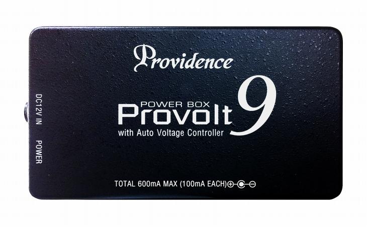 Providence プロヴィデンス / PV-9 PROVOLT9 パワーサプライ 【エフェクトボードの新定番!】