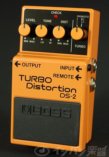 BOSS / DS-2 Turbo Distortion ボス ディストーション【YRK】《9Vマンガン電池2個プレゼント!/+681215700×2》