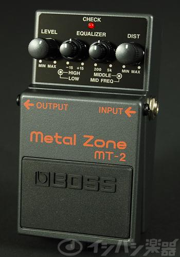 【ご購入特典つき!】【在庫有り】 BOSS / MT-2 Metal Zone ボス エフェクター ディストーション MT2 【YRK】《/80-set12101/+811182200》