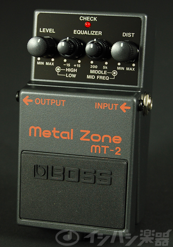 BOSS / MT-2 Metal Zone ボス ディストーション【YRK】《9Vマンガン電池2個プレゼント!/+681215700×2》