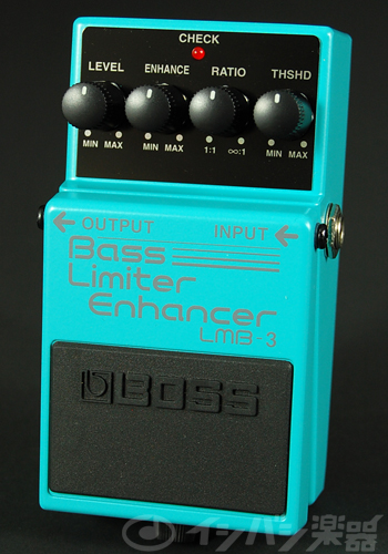 BOSS / LMB-3 Bass Limiter Enhancer ベースリミッター【YRK】《9Vマンガン電池2個プレゼント!/+681215700×2》