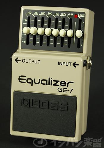 BOSS / GE-7 Equalizer ボス イコライザー【YRK】《9Vマンガン電池2個プレゼント!/+681215700×2》