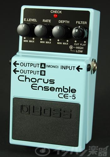 BOSS / CE-5 Chorus Ensemble ボス コーラス【YRK】《9Vマンガン電池2個プレゼント!/+681215700×2》