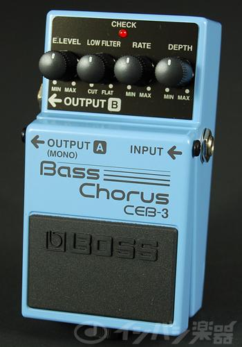 BOSS / CEB-3 Bass Chorus ボス コーラス【YRK】《9Vマンガン電池2個プレゼント!/+681215700×2》《無くなり次第終了!BOSS箸プレゼント:811166400》