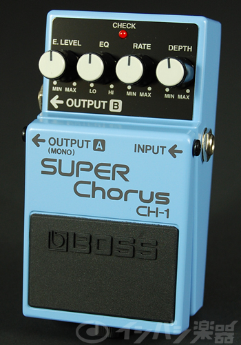 BOSS / CH-1 Super Chorus ボス コーラス【YRK】《9Vマンガン電池2個プレゼント!/+681215700×2》