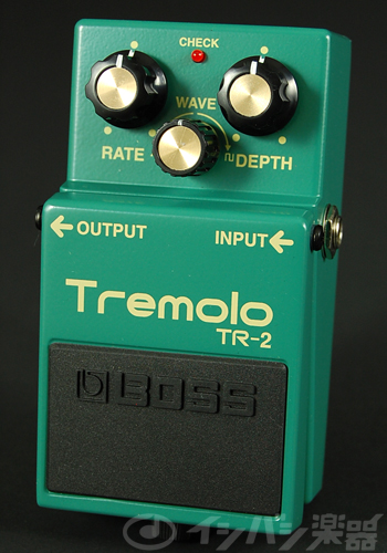 BOSS / TR-2 Tremolo ボス トレモロ【YRK】《9Vマンガン電池2個プレゼント!/+681215700×2》