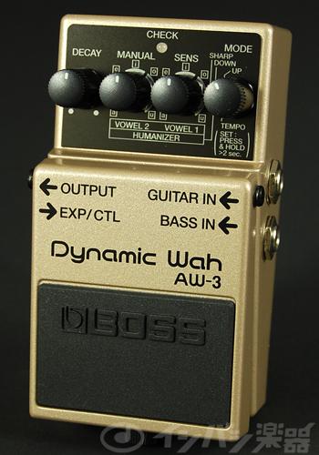 BOSS / AW-3 Dynamic Wah ボス オートワウ【YRK】《9Vマンガン電池2個プレゼント!/+681215700×2》