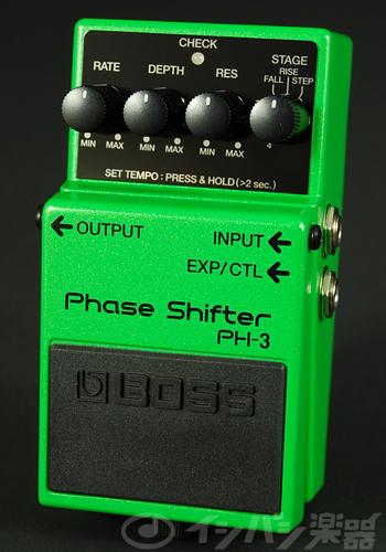 BOSS / PH-3 Phase Shifter ボス フェイザー【YRK】《9Vマンガン電池2個プレゼント!/+681215700×2》