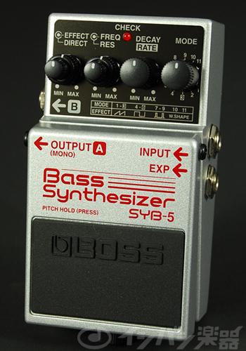 BOSS / SYB-5 Bass Synthesizer ボス ベースシンセサイザー【YRK】《9Vマンガン電池2個プレゼント!/+681215700×2》