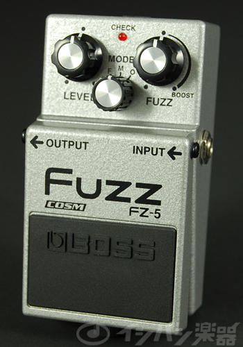 BOSS / FZ-5 Fuzz ボス ファズ【YRK】《9Vマンガン電池2個プレゼント!/+681215700×2》