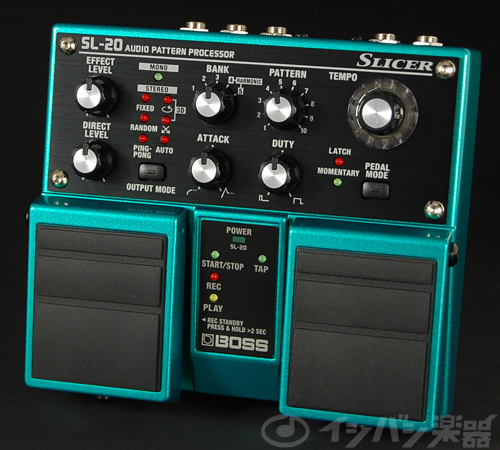 BOSS / SL-20 Slicer ボス スライサー【YRK】《9Vマンガン電池2個プレゼント!/+681215700×2》