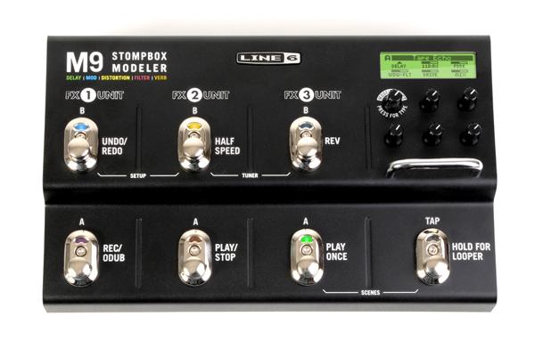 LINE6 / M9 Stompbox Modeler マルチエフェクター 【YRK】