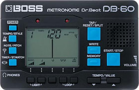 BOSS Dr.BEAT DB-60 電子メトロノーム【YRK】