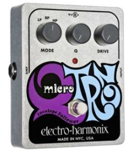electro-harmonix / Micro Q-Tron 【エレクトロハーモニックス】【エンベロープ フォロワー(オートワウ)】【正規輸入品】