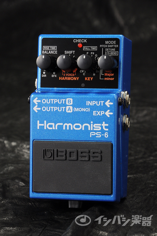 BOSS / PS-6 Harmonist ハーモニスト【YRK】《9Vマンガン電池2個プレゼント!/+681215700×2》