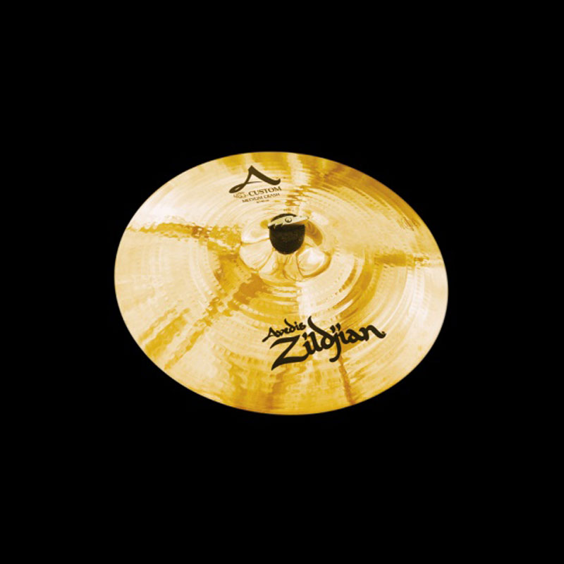 Zildjian A.Custom Medium Crash 16インチ (40cm) NAZLC16MC【お取り寄せ】【YRK】