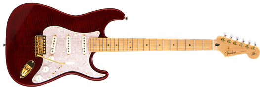 Fender Japan Exclusive Richie Kotzen Stratocaster Transparent Red Burst フェンダー エレキギター《フェンダー純正グッズを進呈/+79083》
