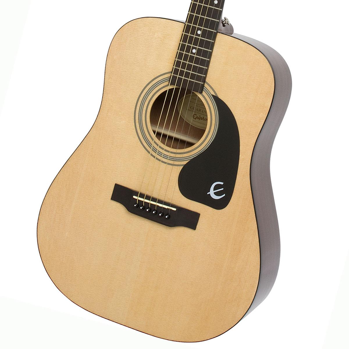 アコギ EPIPHONE 【在庫有り】 / 《純正アクセサリーセット進呈 アコースティックギター エピフォン NA フォークギター (Natural) 初心者 DR-100 入門 /+2308111625005》 DR100
