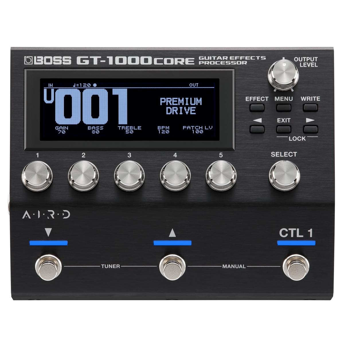 創造を生み出すサウンド コア GT1000CORE登場 あす楽365日 BOSS 買い物 GT-1000CORE ギター ベース用マルチエフェクター PTNB 超激安特価 エフェクター +2307117130001》 ボス YRK 《特典つき GT1000