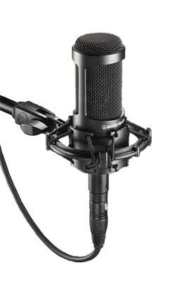 レコーディングの入門用に最適 予約販売品 あす楽365日 新商品 新型 audio-technica AT2035 コンデンサーマイク