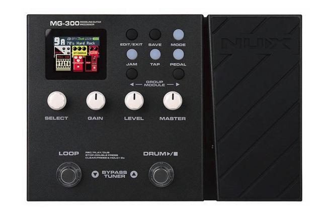多彩な機能とリアルなサウンドをコンパクトサイズに凝縮! 【あす楽対象商品】NUX / MG-300 Modeling Guitar Processor ニューエックス マルチエフェクター【PTNB】《特典つき!/+2307117130001》
