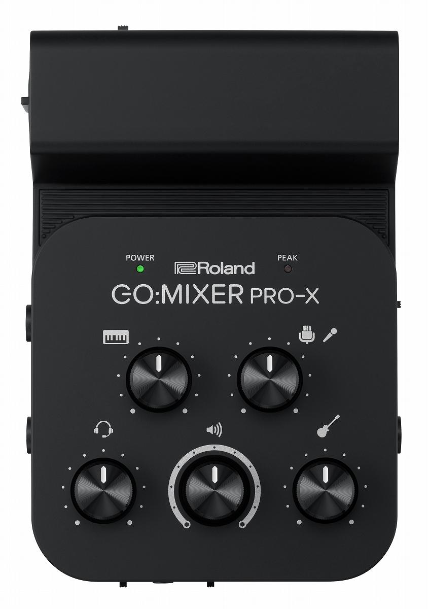 Roland 爆安 ローランド GO:MIXER PRO-X 爆買い送料無料 モバイル ミキサー《予約注文 YRK デバイス専用ポータブル 納期未定》