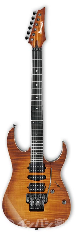 Ibanez j.custom / RG7570Z-BBE Bright Brown Rutile エレキギター【お取り寄せ商品】