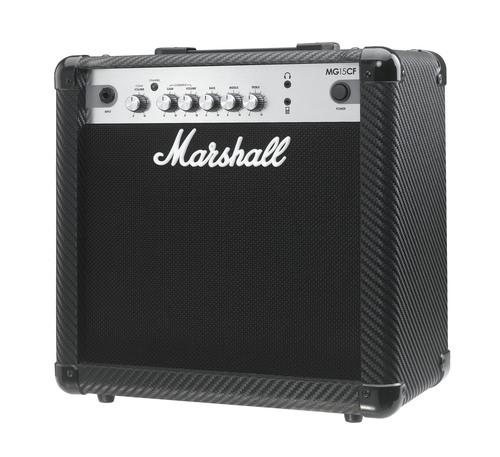 Marshall / MG15CF ギターアンプ 《ipodもつなげるAUXケーブル付き:661400200》【YRK】【お取り寄せ商品】