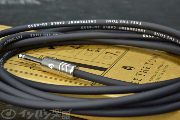 FREE THE TONE / INSTRUMENT CABLE CU-6550STD 3.0M S/L ストレート/Lアングル