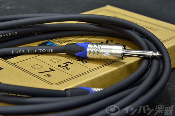 FREE THE TONE / INSTRUMENT CABLE CU-6550LNG 3.0M S/S ストレート/ストレート