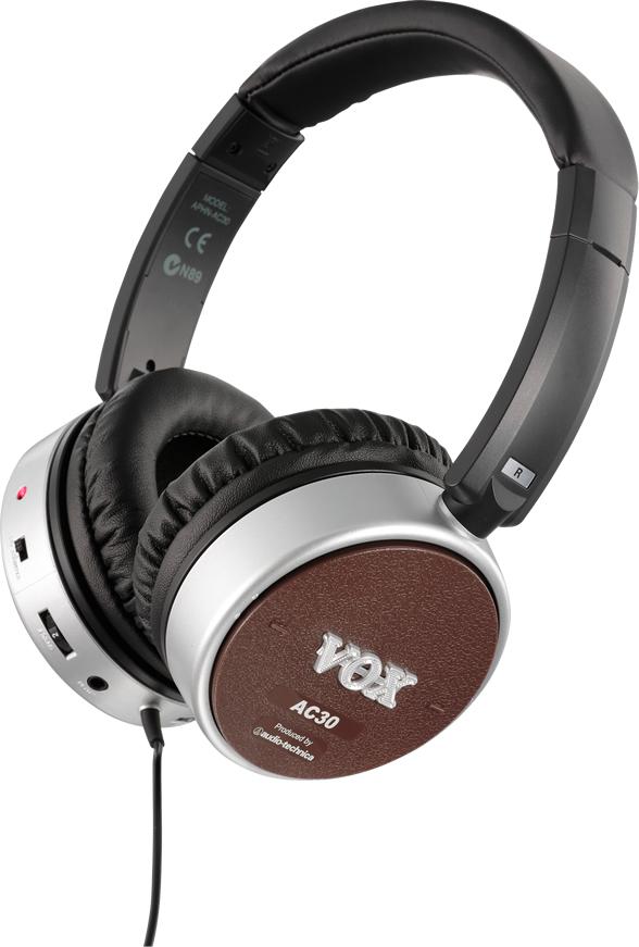 VOX / ボックス amPhones Active Guitar Headphones AC30【YRK】【お取り寄せ商品】