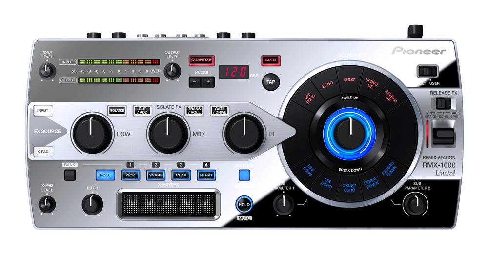 Pioneer パイオニア / RMX-1000 Platinum Edition 【台数限定】(RMX-1000-M)【お取り寄せ商品】【代引き手数料無料】【PNG】