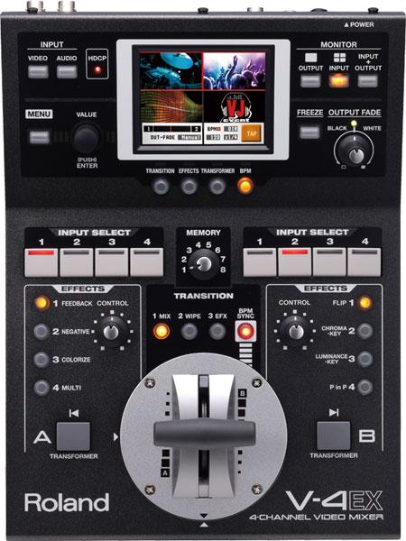 Roland ローランド / V-4EX ビデオミキサー(V4EX)【YRK】