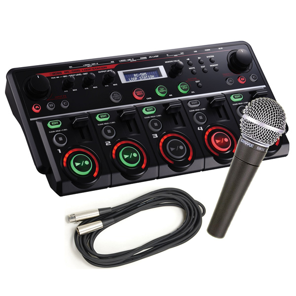BOSS ボス / RC-505 Loop Station 【SM58マイクセット!】【代引き手数料無料】(RC505)【YRK】