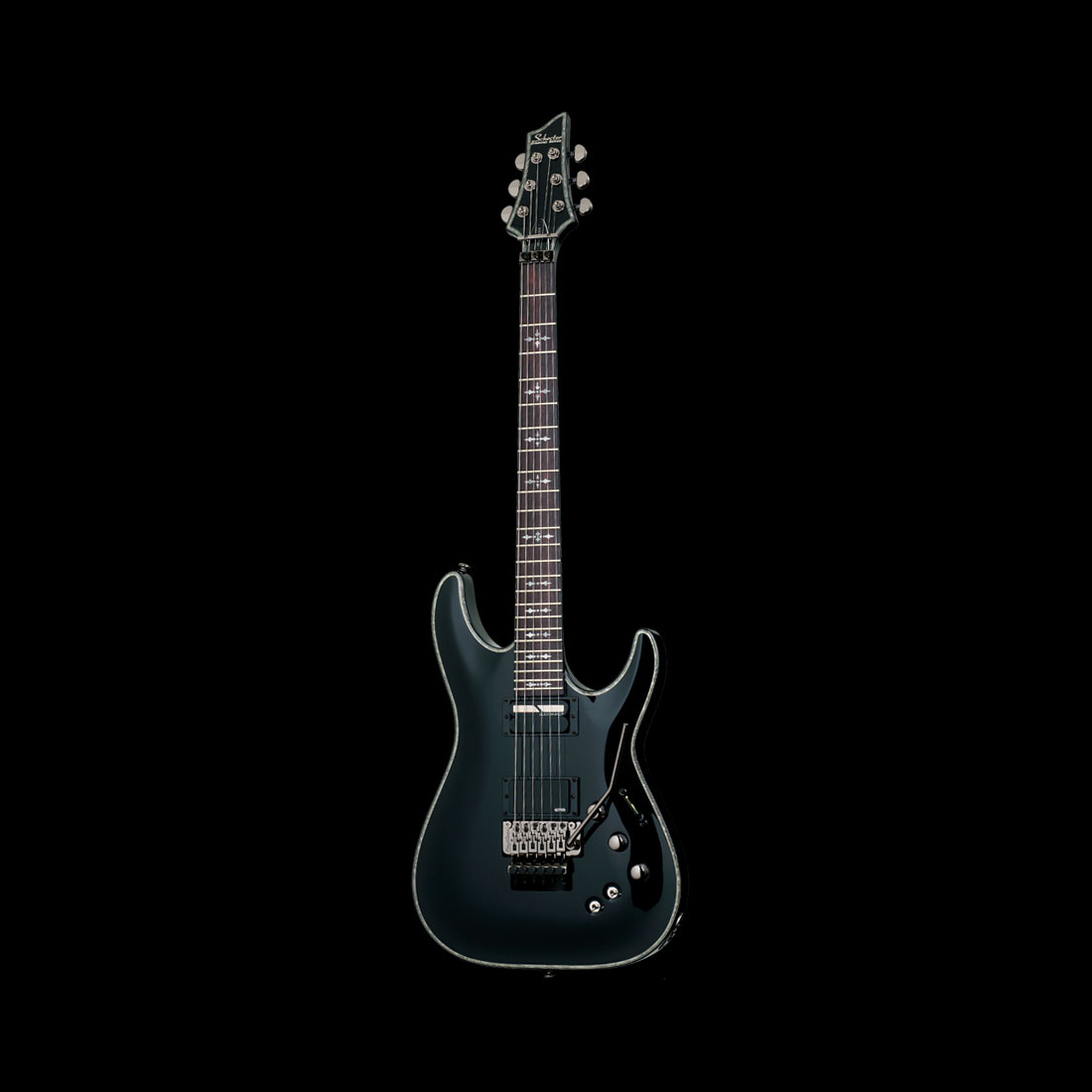 Schecter / HELLRAISER SUSTAINIAC C-1FR Gross Black シェクター エレキギター 【お取り寄せ商品】
