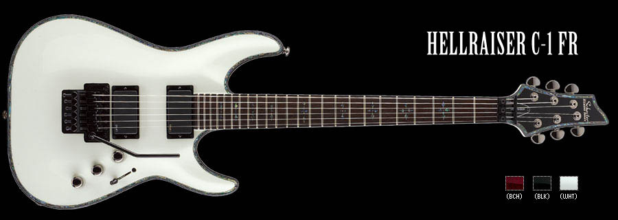 Schecter / HELLRAISER C-1FR Gross White シェクター エレキギター 【お取り寄せ商品】