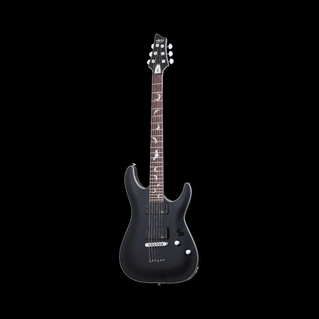 Schecter / DAMIEN PLATINUM-6 Satin Black シェクター エレキギター 【お取り寄せ商品】