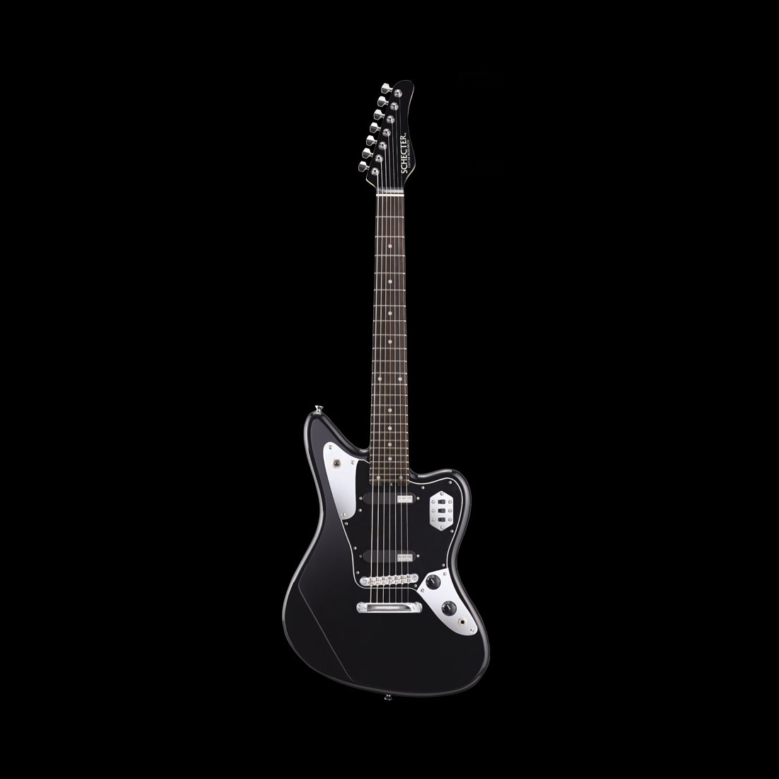 Schecter / AR-07-R Black シェクター エレキギター 【お取り寄せ商品】