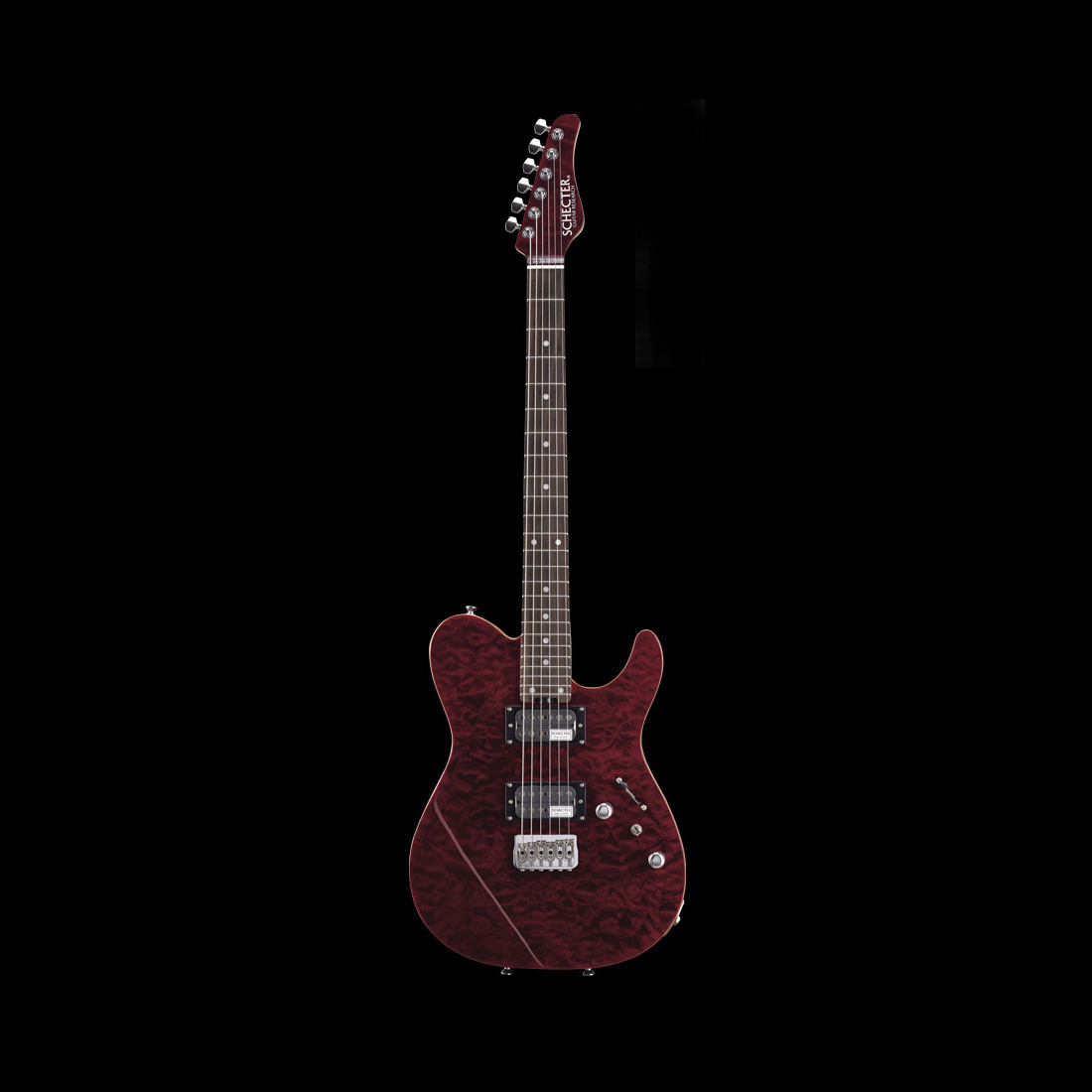 Schecter / KR-24-2H-FXD-R See Thru Red シェクター エレキギター 【お取り寄せ商品】