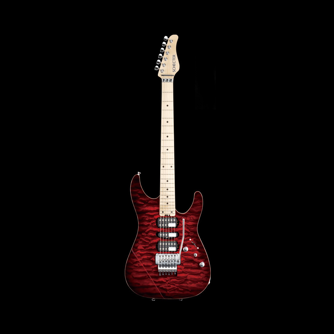 Schecter / NV-DX-24-AS-M Red Sunburst シェクター エレキギター 【お取り寄せ商品】