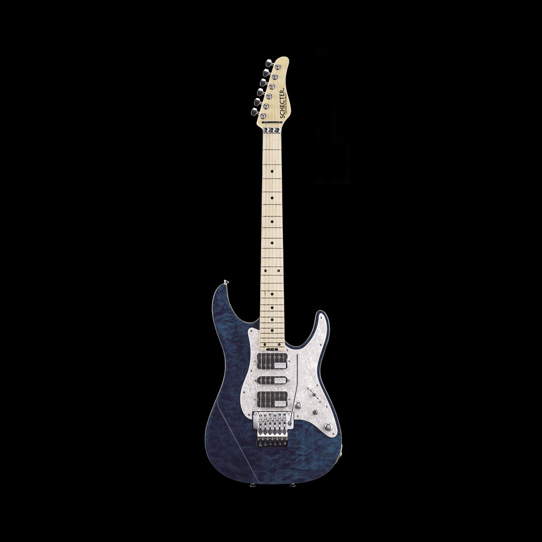 Schecter / SD-2-24-AL-M See Thru Blue シェクター エレキギター