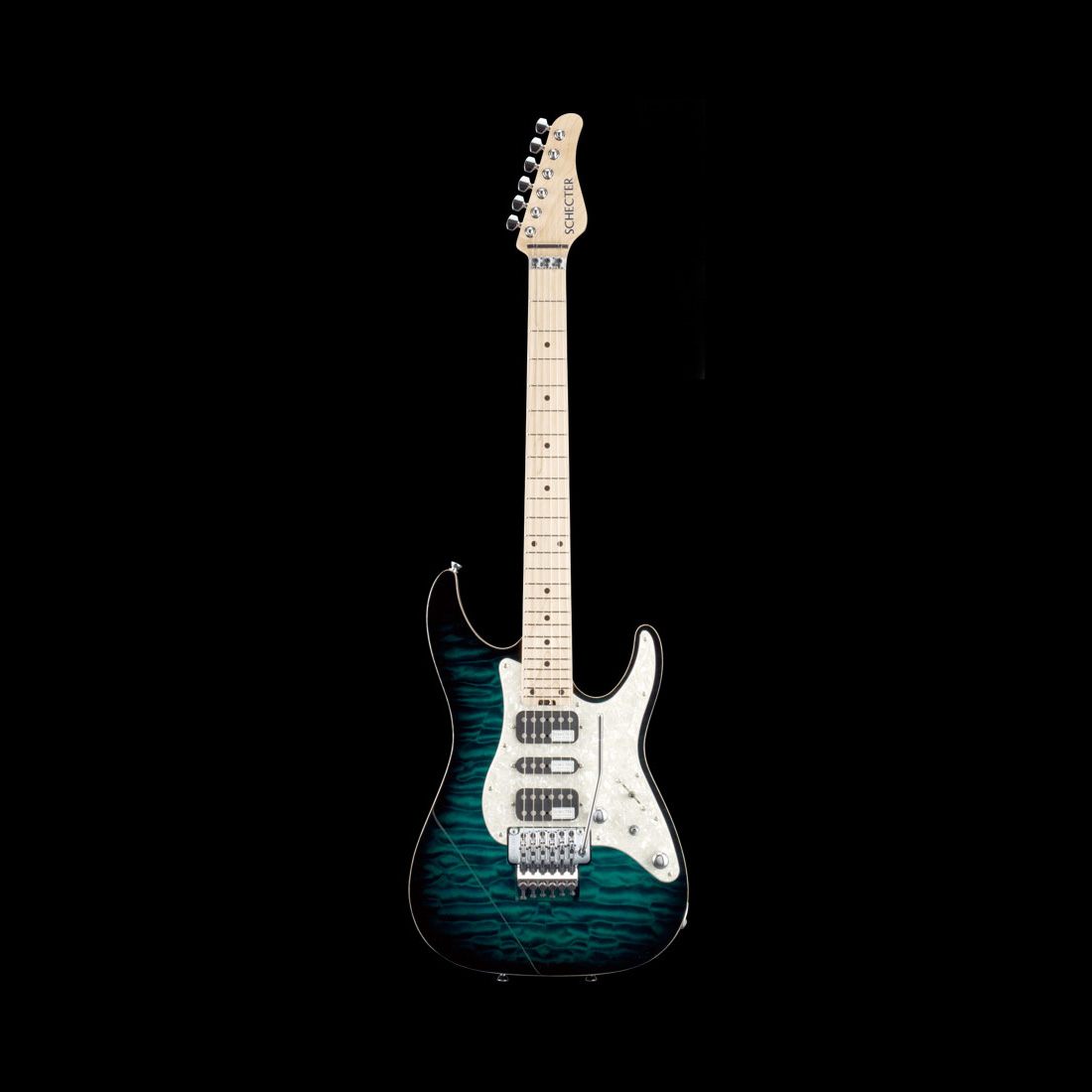 Schecter / SD-DX-24-AS-M Green Sunburst シェクター エレキギター 【お取り寄せ商品】