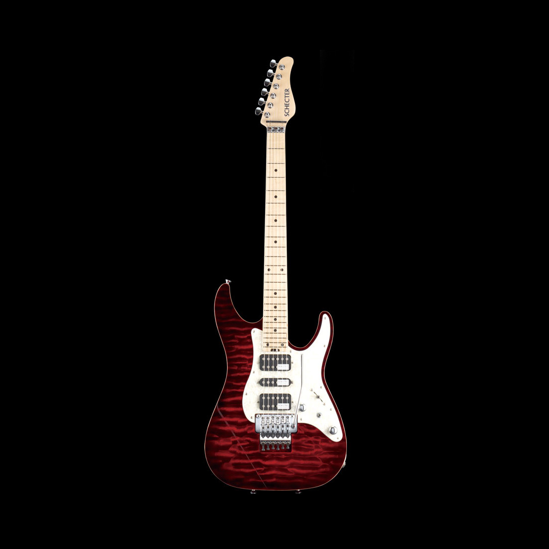 Schecter / SD-DX-24-AS-M Red Sunburst シェクター エレキギター 【お取り寄せ商品/納期別途ご案内】