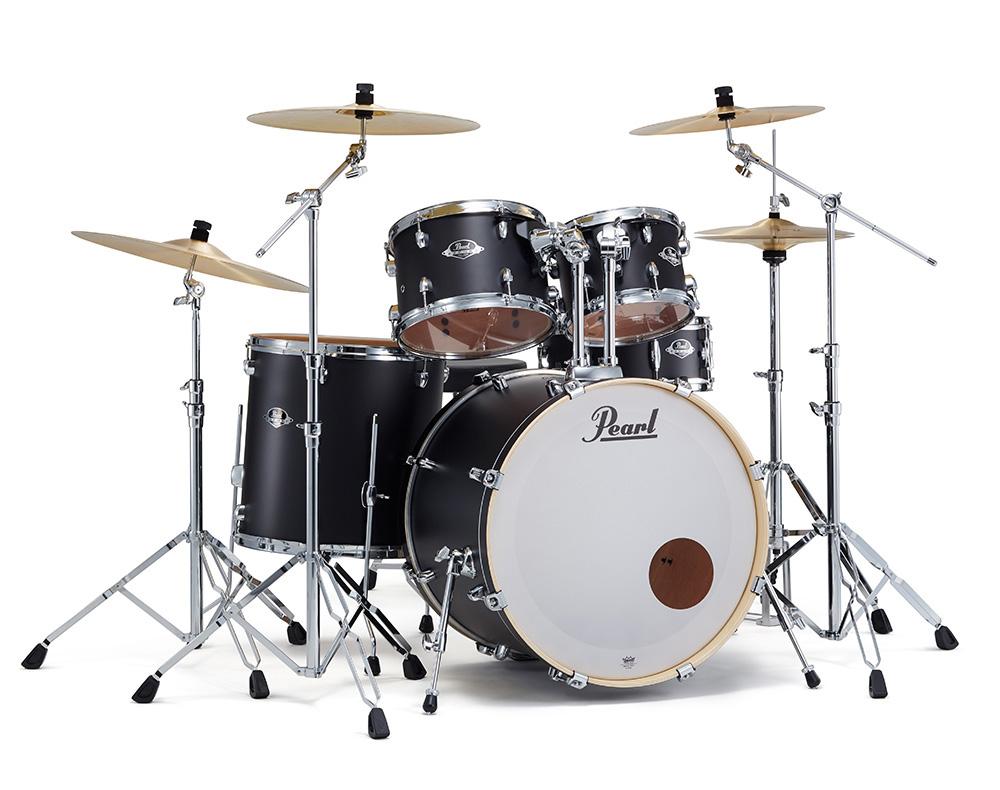 Pearl ドラムセット EXX725S/C #761 3シンバル拡張 ドラムフルセット (スタンダードサイズ)