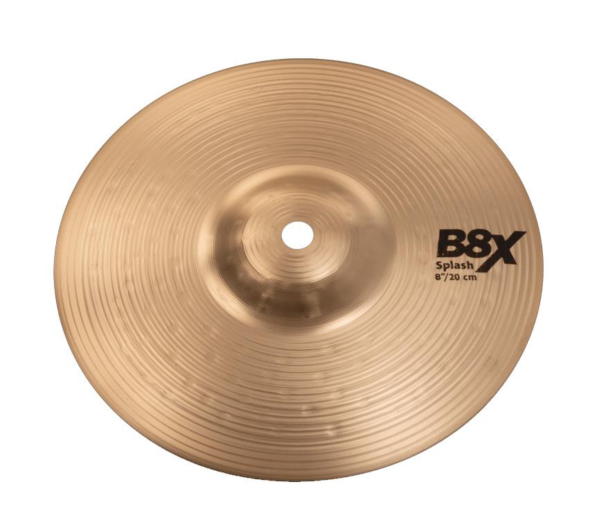 SABIAN B8X-8SP セイビアン B8X スプラッシュ 8インチ