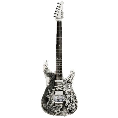 Schecter / PA-ZK-T6 Original Dragon Graphic シェクター エレキギター 小林信一シグネイチャー 【お取り寄せ商品】