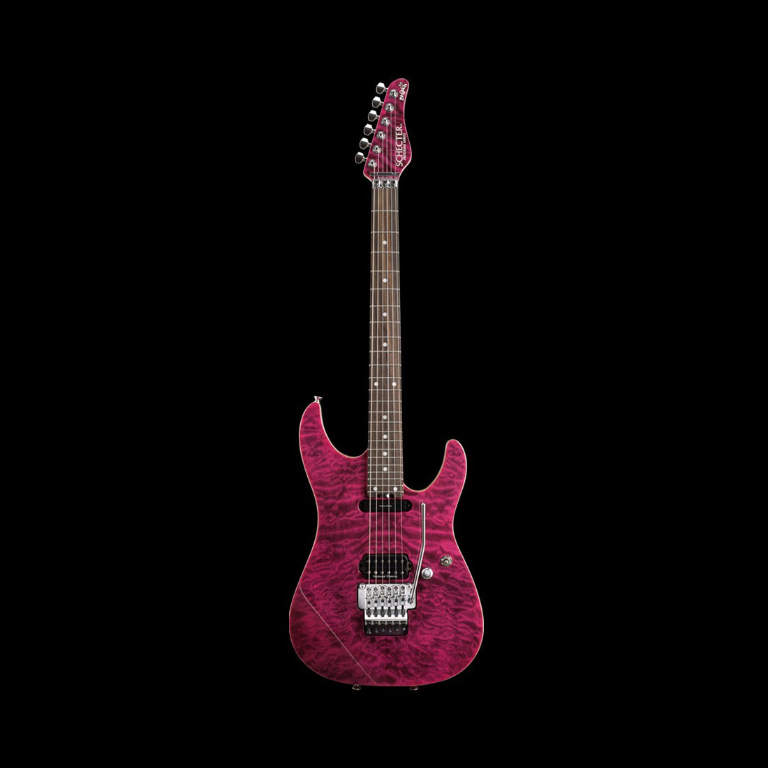 Schecter / PA-ZK-Y6 Pink Berry シェクター エレキギター 小林信一シグネイチャー 【お取り寄せ商品/納期別途ご案内】