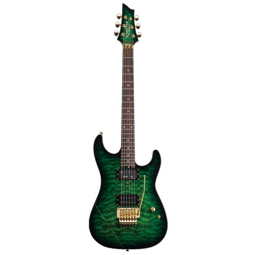 Schecter / PA-LV/SX Emerald Green Burst シェクター エレキギター Sxunシグネイチャー 【お取り寄せ商品/納期別途ご案内】