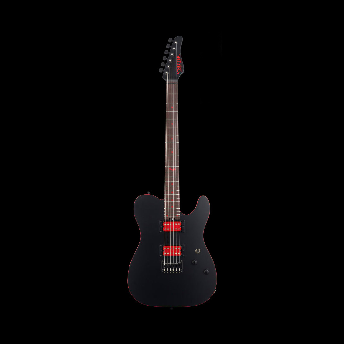 Schecter / PA-SM/SH Mat Black シェクター エレキギター SHOW-HATEシグネチヤー 【お取り寄せ商品】