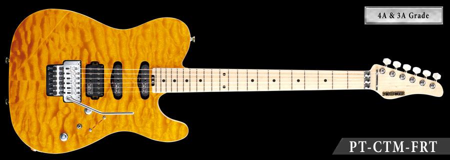 Schecter / PT-IV-CTM-FRT M Amber シェクター エレキギター 《受注生産:予約受付中》